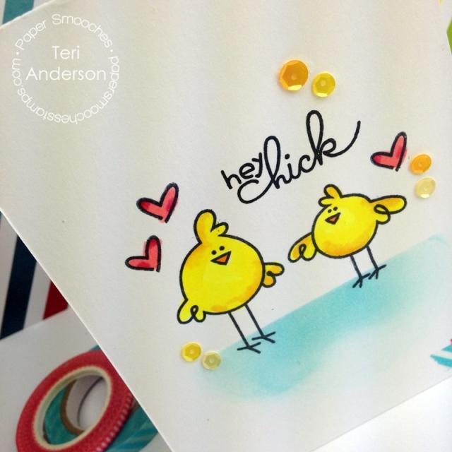 A handmade card by Teri for Paper Smooches // terisplace.wordpress.com