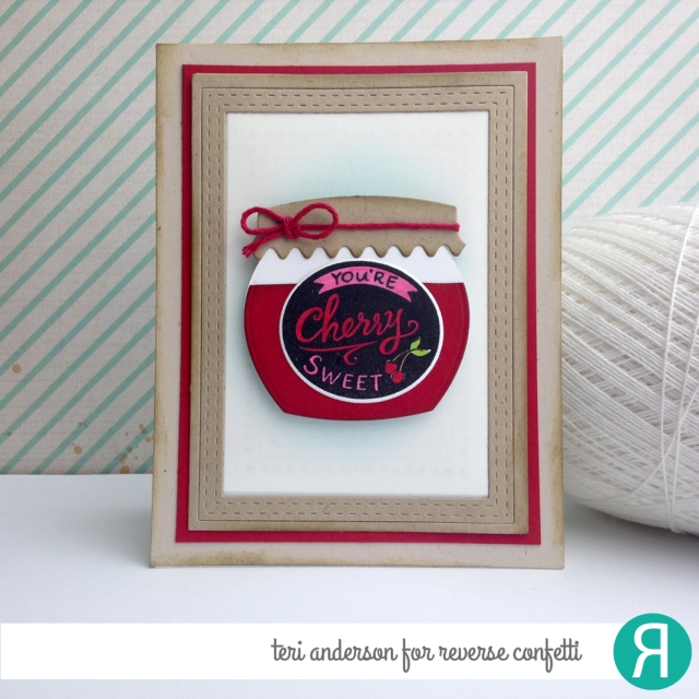 Cherry Sweet by Teri for Reverse Confetti // terisplace.wordpress.com
