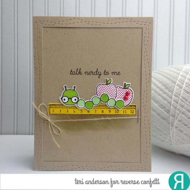 A handmade card for Reverse Confetti by Teri // terisplace.wordpress.com