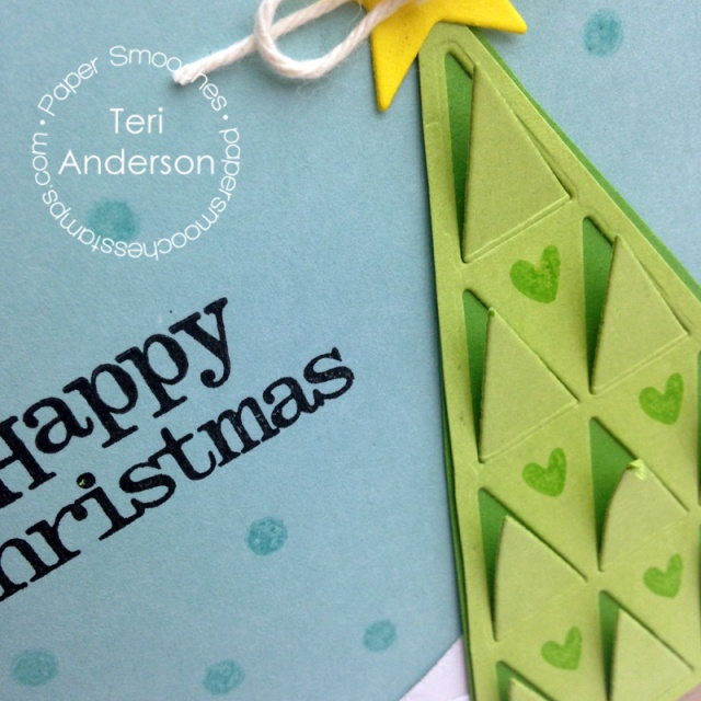 A handmade card for Paper Smooches by Teri // terisplace.wordpress.com