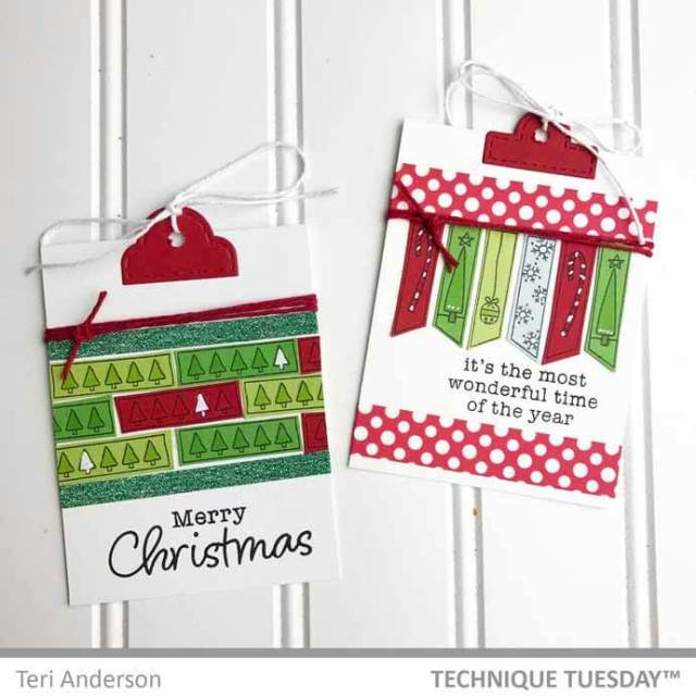 Handmade Christmas Tags by Teri // terisplace.wordpress.com