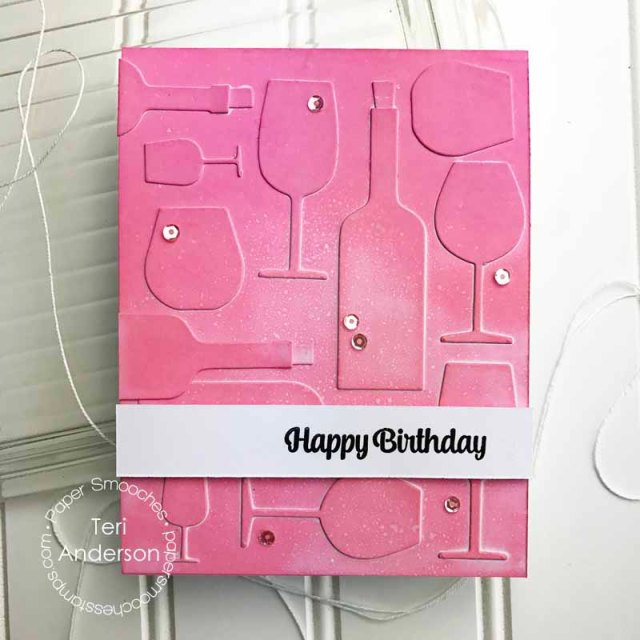 A handmade card by Teri for Paper Smooches // terisplace.wordpress.com