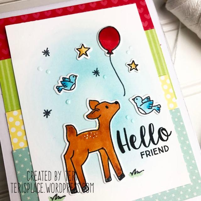 A stamped card by Teri // terisplace.wordpress.com