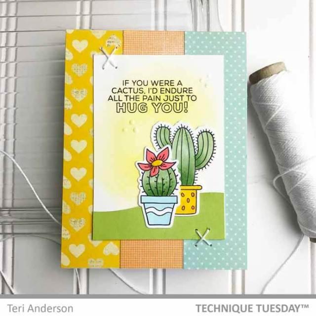 Hug-You-Cactus-Card-Teri-A-Technique-Tuesday