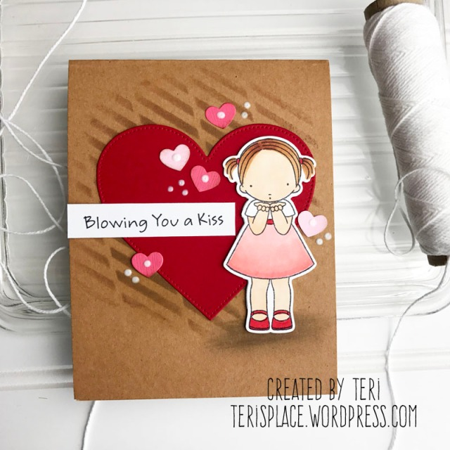 A handmade card by Teri // terisplace,wordpress.com