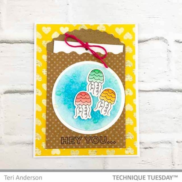 Hey-You-Jelly-Fish-Card-Teri-A-Technique-Tuesday