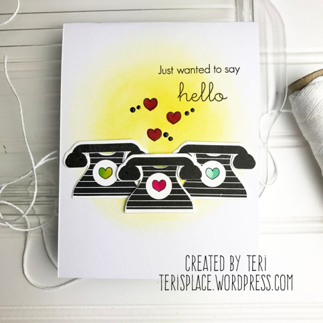 A handmade card by Teri // terisplace.wordpress.com