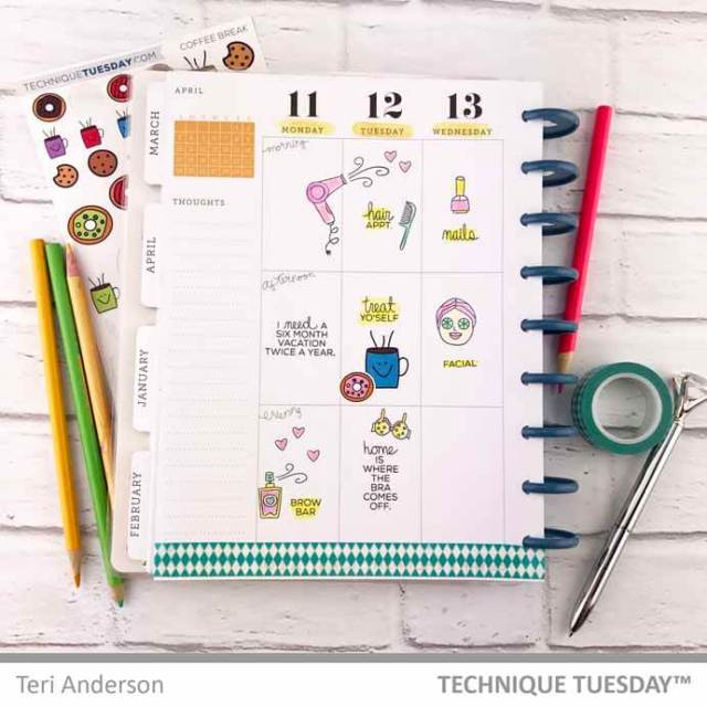 Beauty-Planner-Page-Teri-A-Technique-Tuesday