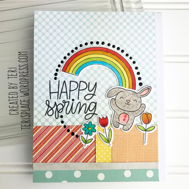 A stamped card by Teri || terisplace.wordpress.com