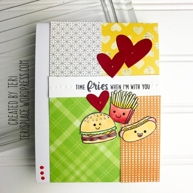 A stamped card by Teri || terisplace,wordpress.com
