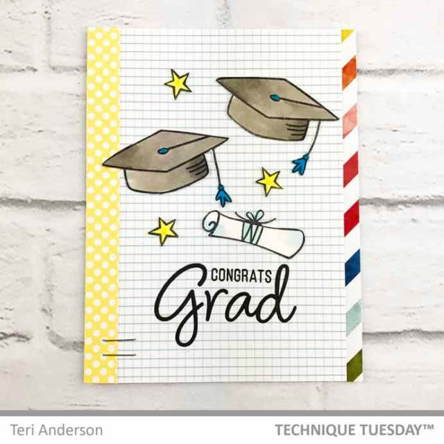 Rainbow-Grad-Card-Teri-A-Technique-Tuesday