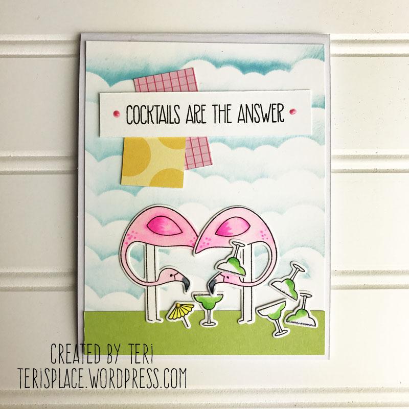 A stamped card by Teri || Terisplace.wordpress.com