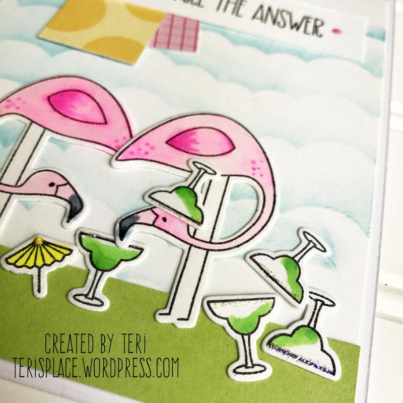 Flamingoparty2card-teri