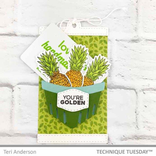 A Gift Card pocket by Teri | Terisplace.wordpress.com