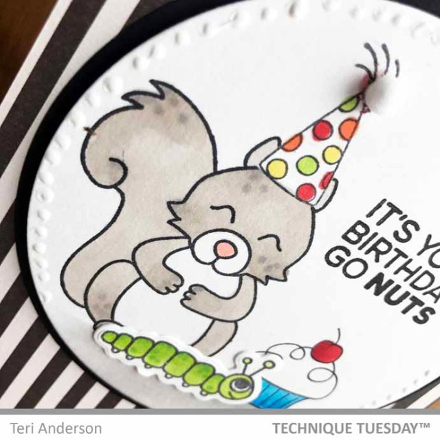 Squirrel-Birthday-Nuts-Card-Close-Teri-A-Technique-Tuesday