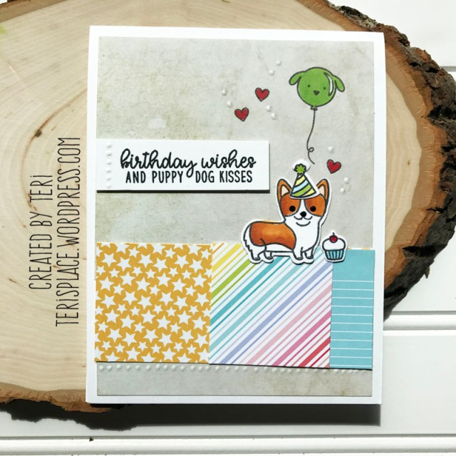 A birthday card by Teri | terisplace.wordpress.com