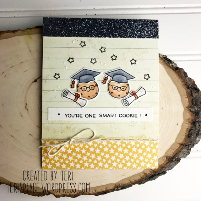 A stamped graduation card by Teri | terisplace.wordpress.com