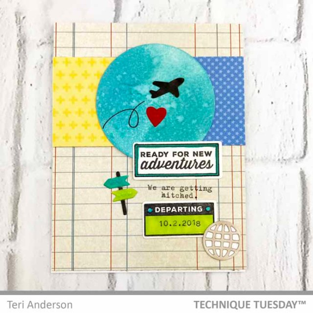 Getting-Hitched-Engagement-Card-Teri-A-Technique-Tuesday