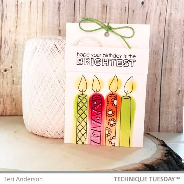 BrightestBirthdayCandlesTag-TeriA-TechniqueTuesday