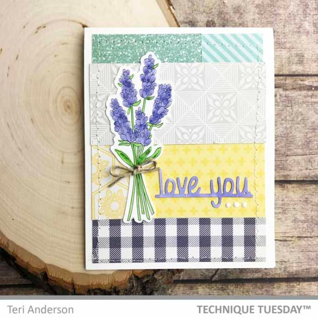 Patchwork-Love-You-Lavendar-Card-Teri-A-Technique-Tuesday