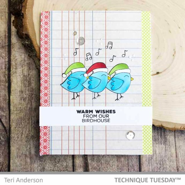 Warm-Wishes-Bird-Trio-Card-Teri-A-Technique-Tuesday