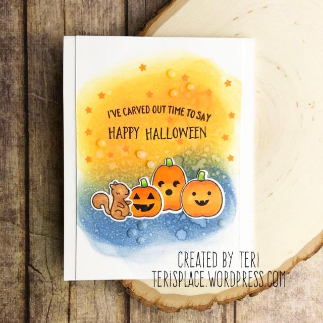 A stamped Halloween card by Teri   terisplace.wordpress.com
