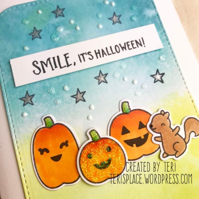 A stamped Halloween card by Teri | terisplace.wordpress.com