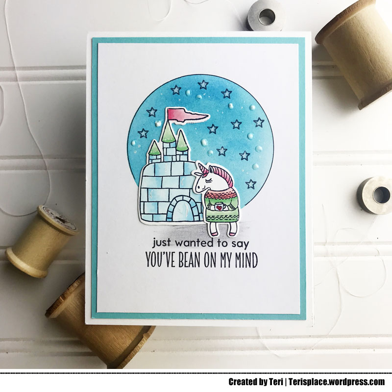 UnicornBeanonmymindcard-teri