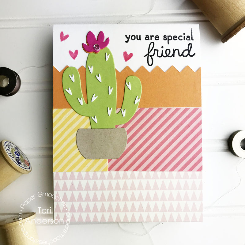 A handmade card by Teri for Paper Smooches | terisplace.wordpress.com