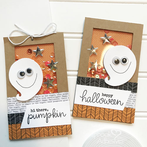 A Halloween Shaker Card and Tag by Teri | terisplace,wordpress.com