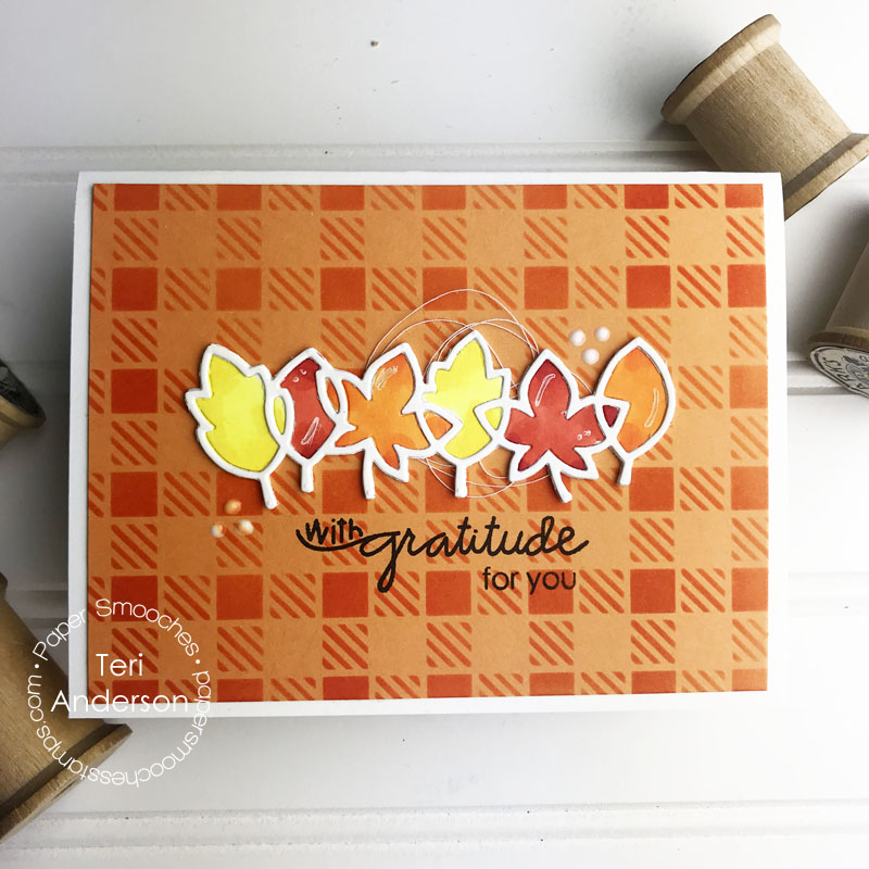 With Gratitude card by Teri | terisplace.wordpress.com