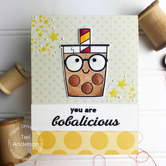 A Harry Potter Boba Tea card made by Teri | terisplace.wordpress.com