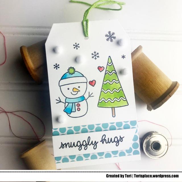 A Christmas Tag by Teri   terisplace.wordpress.com