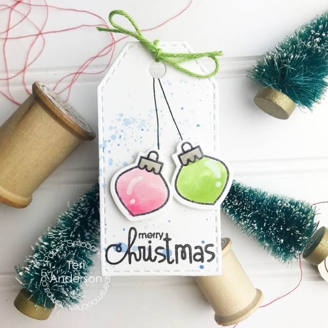 A Christmas Tag created by Teri | terisplace.wordpress.com