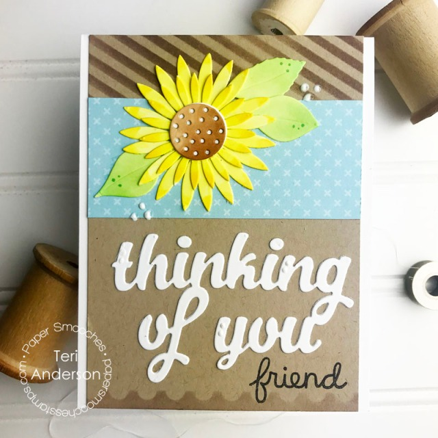 A stamped friendship card by Teri | terisplace,wordpress,com