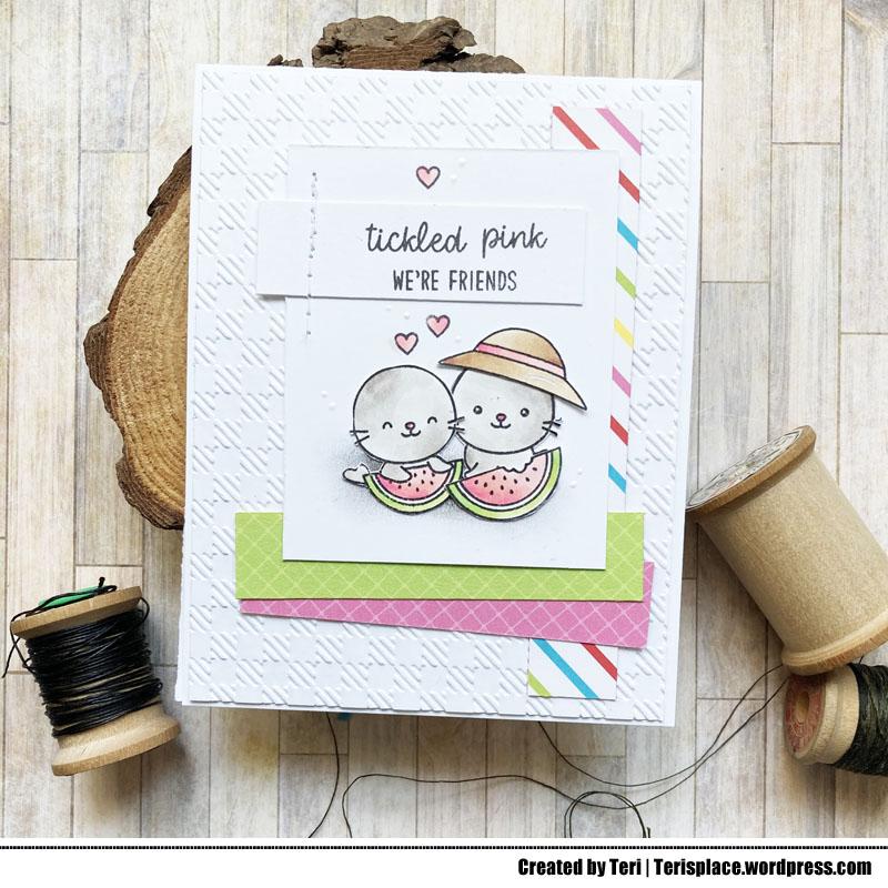 A stamped card by Teri | terisplace.wordpress.com